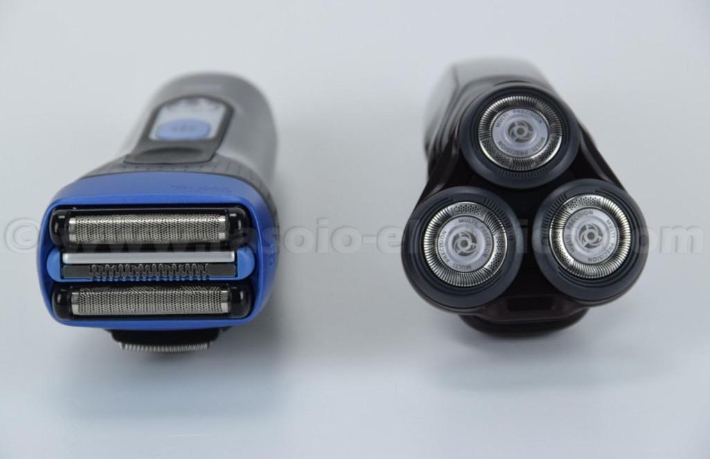 Diverse tipologie di rasoio elettrico